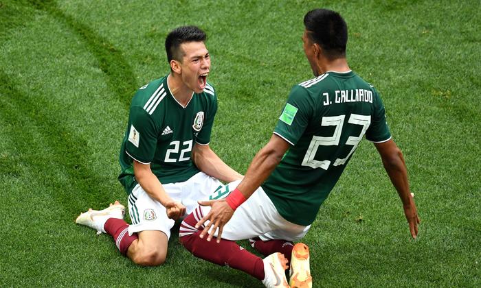 墨西哥1:0力克德国 进球引发墨西哥城地震